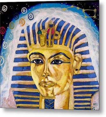 Egyptian Mysteries Metal Print by Morten Bonnet