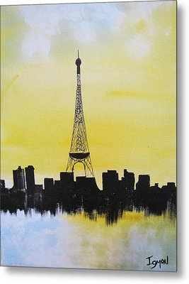 Eiffel Of Paris Metal Print by Gary Smith