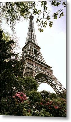 Eiffel Tower Metal Print by Joe Bonita