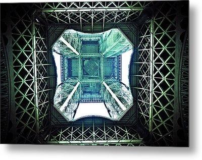 Eiffel Tower Paris Metal Print by Fabien Astre