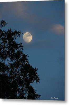 Metal Print featuring the photograph Eight Thirty Two Pm by Greg Patzer