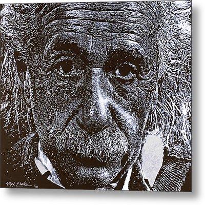 Einstein Metal Print by Max Eberle