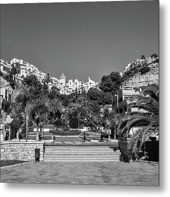 El Capistrano, Nerja Metal Print by John Edwards