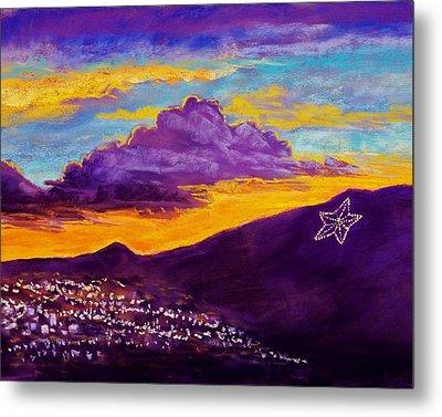 El Paso's Star Metal Print by Candy Mayer