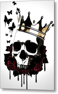 El Rey De La Muerte Metal Print by Nicklas Gustafsson