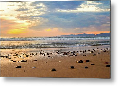 Metal Print featuring the photograph El Segundo Beach by April Reppucci