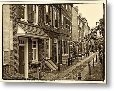 Elfreths Alley Metal Print by Jack Paolini