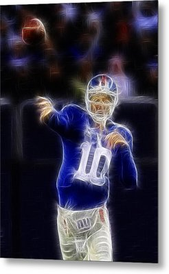 Eli Manning Metal Print by Paul Ward