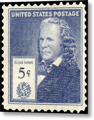 Elias Howe (1819-1867) Metal Print by Granger