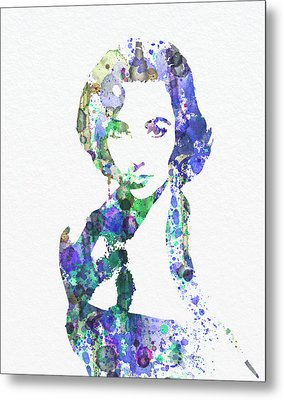 Elithabeth Taylor Metal Print by Naxart Studio