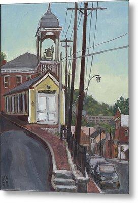 Ellicott City Firehouse Metal Print