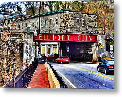 Ellicott City Metal Print