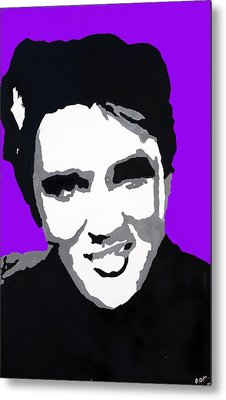 Metal Print featuring the drawing Elvis Don't Live Here Anymore by Robert Margetts