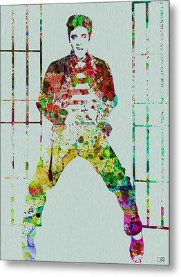 Elvis Presley Metal Print by Naxart Studio