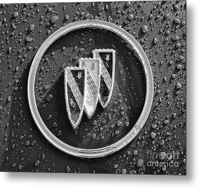 Metal Print featuring the photograph Emblem Mono by Dennis Hedberg