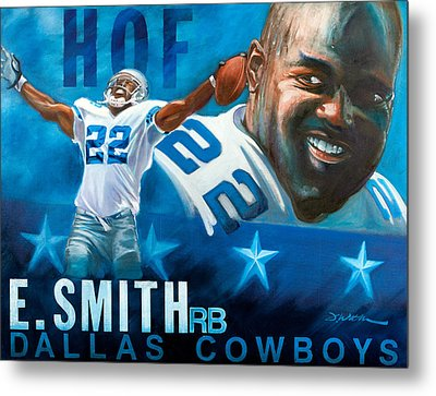 Emmit Smith Hof Metal Print by Jim Wetherington