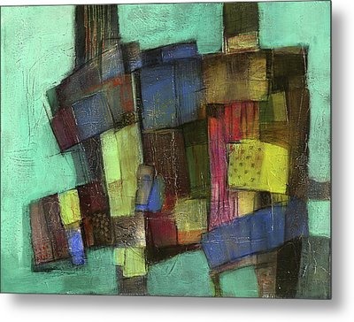Colorful Metal Print by Behzad Sohrabi