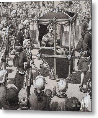 Empress Maria Theresa Metal Print