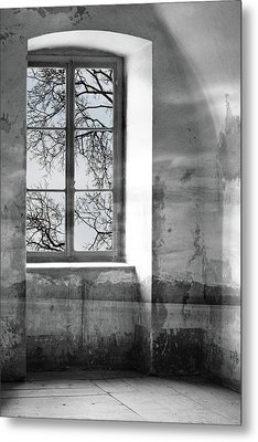 Metal Print featuring the photograph Emptiness by Munir Alawi