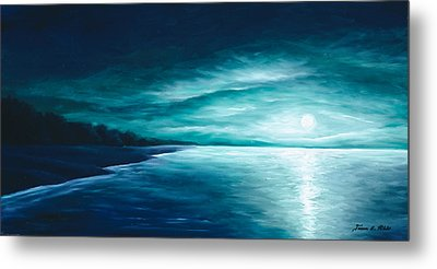 Enchanted Moon I Metal Print by James Christopher Hill