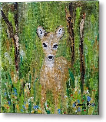 Metal Print featuring the painting Enchantment by Judith Rhue