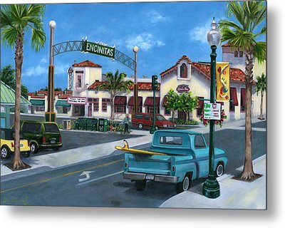 Encinitas Dreaming Metal Print