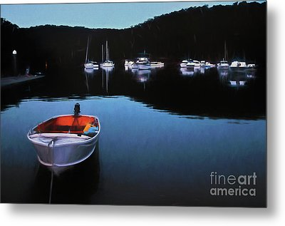 End Of A Beautiful Day Metal Print by Kaye Menner