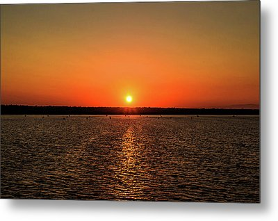 Metal Print featuring the photograph End Of Day by April Reppucci