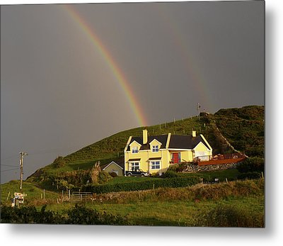 End Of The Rainbow Metal Print by Mike McGlothlen