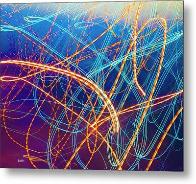 Energy Metal Print by Betsy Knapp