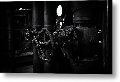 Metal Print featuring the photograph Engine Room by Tim Nichols