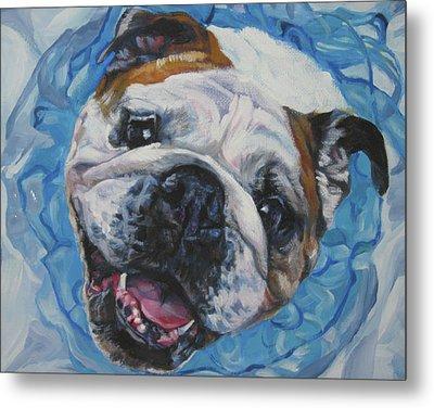 English Bulldog Metal Print by Lee Ann Shepard
