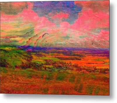 English Countryside Metal Print by Jen White
