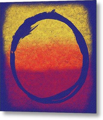 Enso 6 Metal Print by Julie Niemela