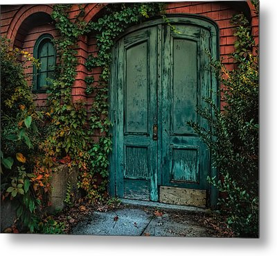 Enter October Metal Print