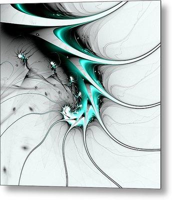 Entity Metal Print by Anastasiya Malakhova