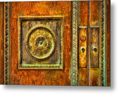 Entrance Metal Print by Susan Candelario