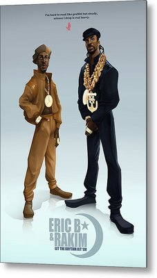 Ericb And Rakim Metal Print
