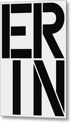 Erin Metal Print