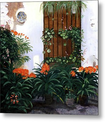 Metal Print featuring the painting Espana by Lynne Reichhart