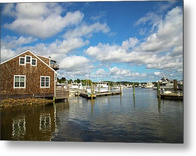 Essex Waterfront Metal Print