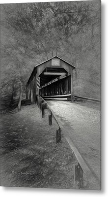 Esther Furnace No 8 Metal Print by Marvin Spates