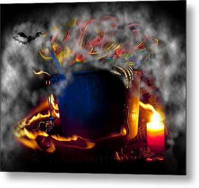 Everything Is Coming Out To Play Metal Print by Barbara  White