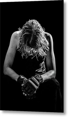 Exhaustion Metal Print by Amber Kresge