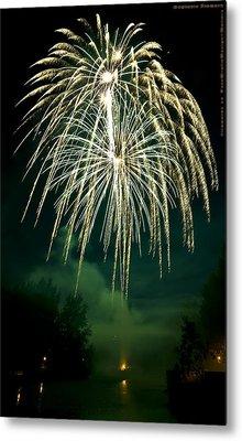 Explosive Flowers 12 Metal Print by Heinz - Juergen Oellers