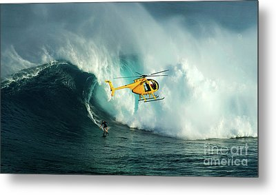 Extreme Surfing Hawaii 6 Metal Print