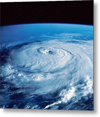 Eye Of The Hurricane Metal Print by Stocktrek Images