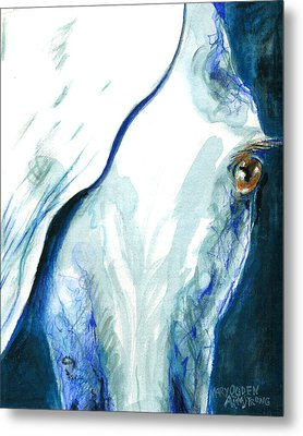 Eye On You Metal Print by Mary Armstrong