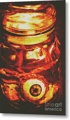 Eyes Of Formaldehyde Metal Print by Jorgo Photography - Wall Art Gallery