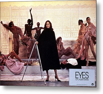 Eyes Of Laura Mars, Faye Dunaway, 1978 Metal Print